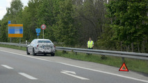 2015 BMW 7-Series Plug-in Hybrid prototype breaks down in Germany (spy photos)