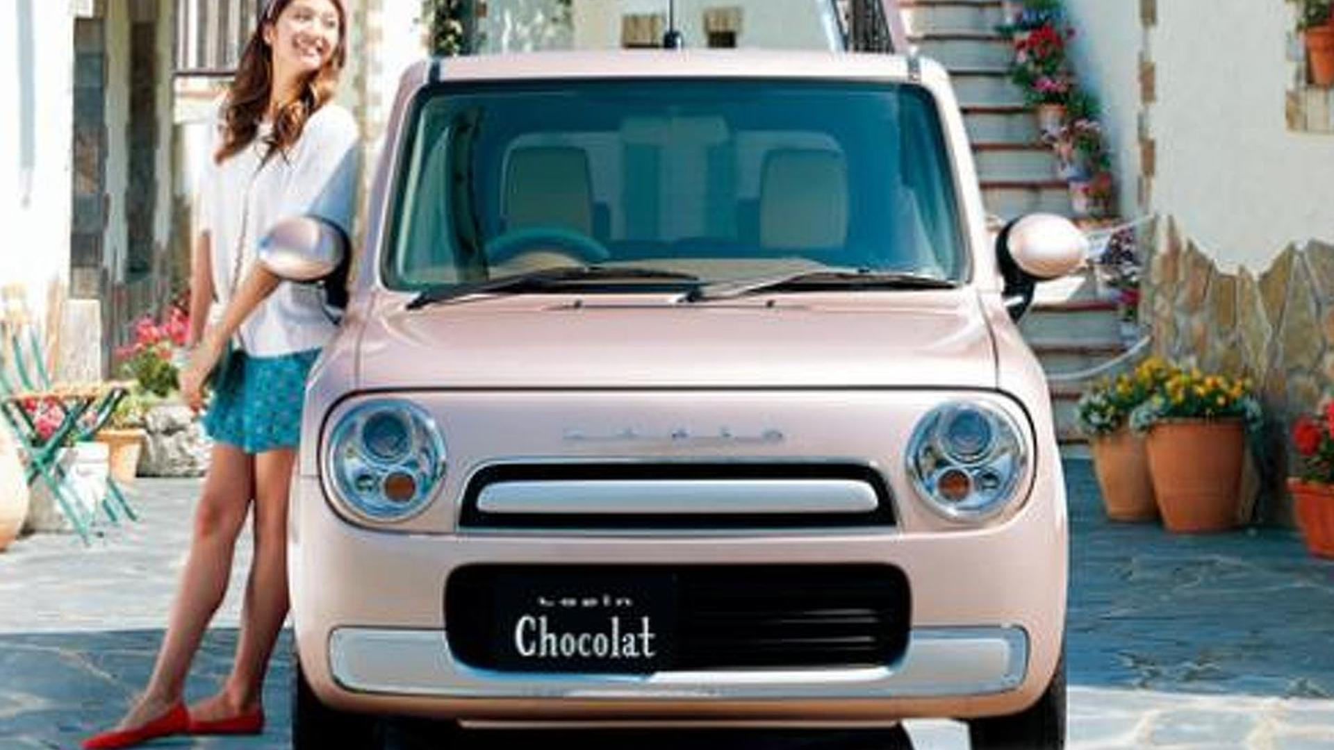 Suzuki embraces the chick car, introduces the female-friendly Lapin Chocolat