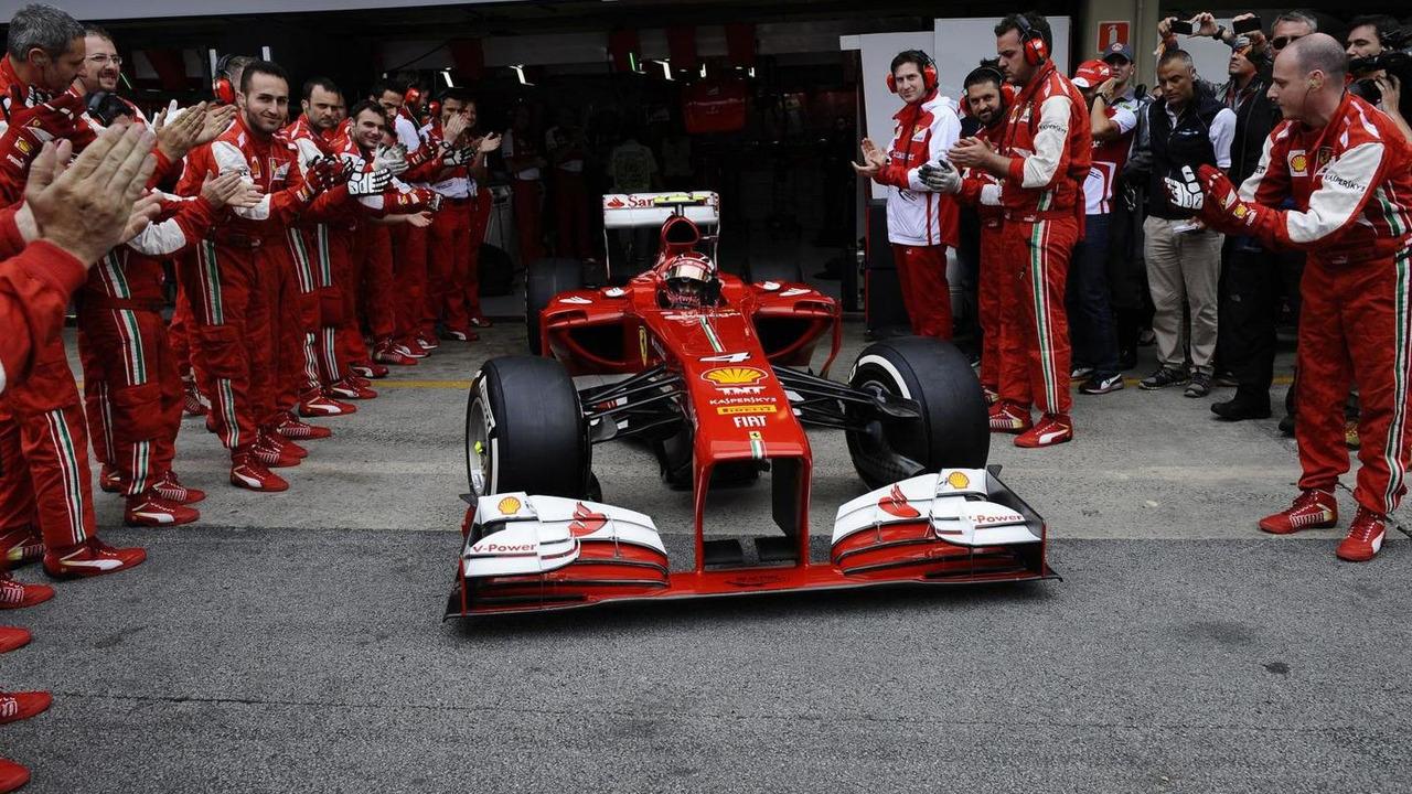 Felipe Massa and his F138 24.11.2013 Brazilian Grand Prix