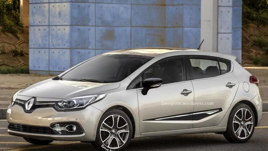 Fourth-generation Renault Megane digitally envisioned