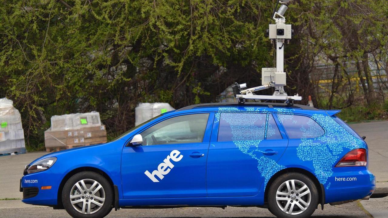 Nokia HERE car