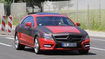 2012 Mercedes CLS-Class spy photos - 09.07.2010
