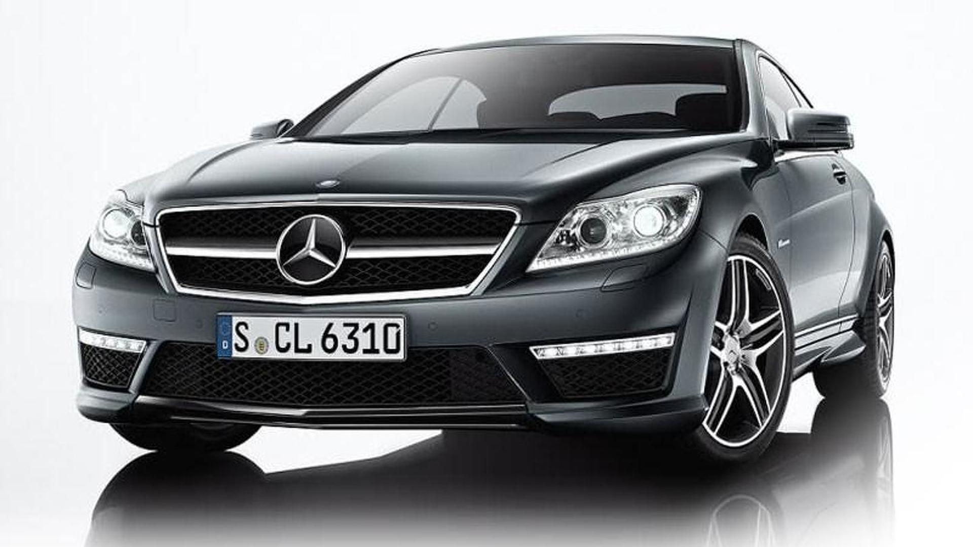 mercedes cl65 cl63 amg images leaked. Black Bedroom Furniture Sets. Home Design Ideas