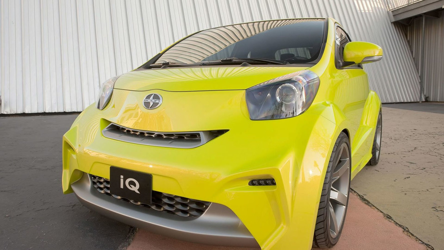 Scion IQ Concept Unveiled in New York
