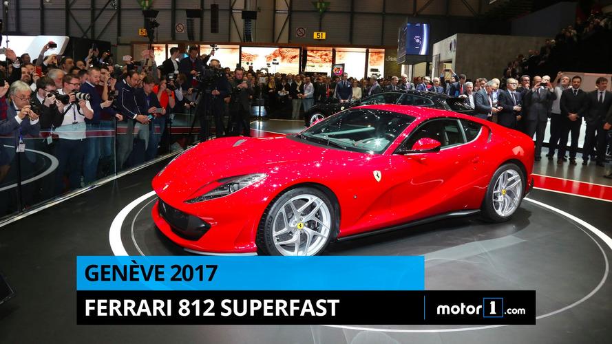 VIDÉO - La Ferrari 812 Superfast en direct de Genève !
