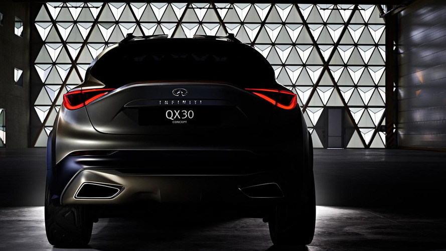 Infiniti QX30 concept teased ahead of Geneva debut