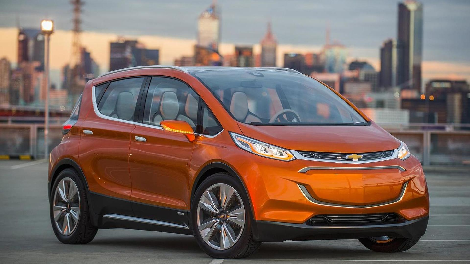 Chevrolet Bolt EV concept arrives at NAIAS with 200+ mile range [videos]