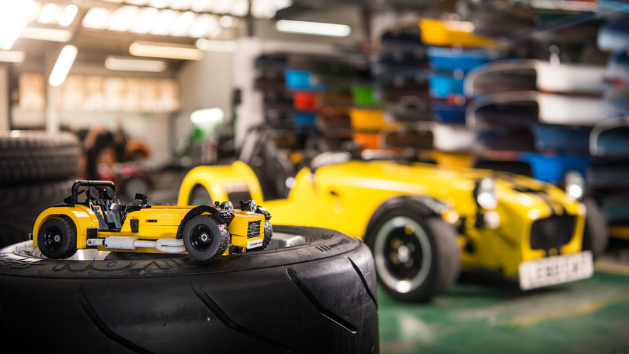 Lego reveals Caterham 620R set