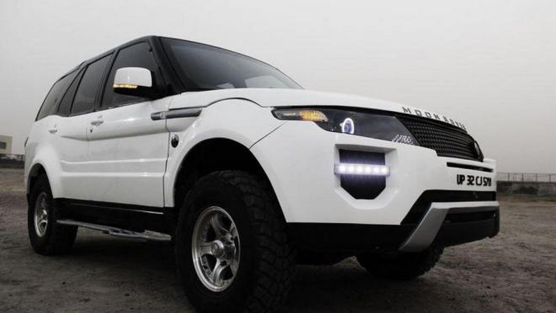 Indian tuner creates the 'Moon Rover' Evoque