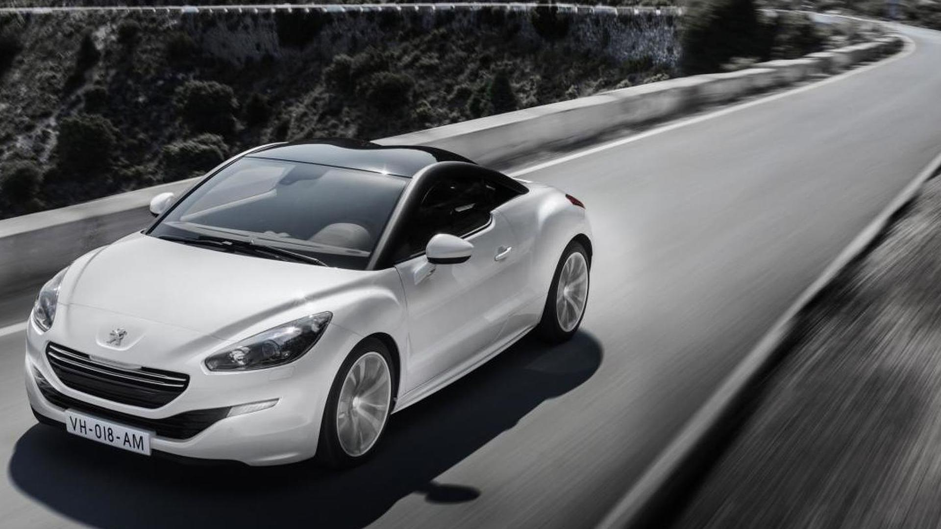2013 Peugeot RCZ facelift revealed