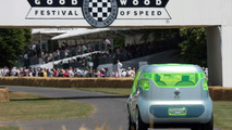 Renault £2 million Z.E. Concept makes peculiar stroll up Goodwood hill