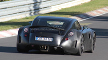 Wiesmann GT spied testing on the Nürburgring