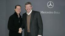 Brawn to decide Mercedes driver hierarchy - Zetsche