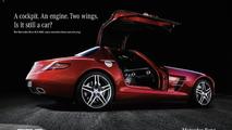 Print advertising Mercedes-Benz SLS AMG