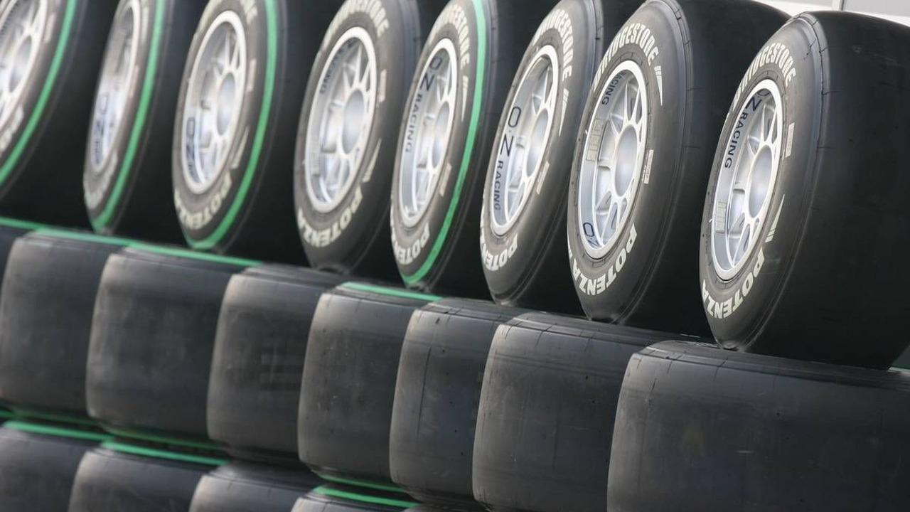 Bridgestone tyres, Chinese Grand Prix, 16.04.2010 Shanghai, China