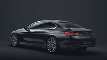 BMW Concept Gran Coupe revealed - previews 6-Series competitor for Mercedes CLS