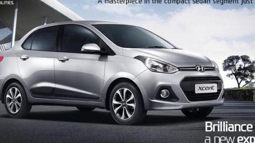 Hyundai Xcent unveiled in New Delhi