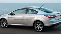 Hey Ford, this is cool: Focus Coupe renderings by Theophilus Chin