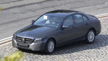 2014 Mercedes C-Class strips for the cameras