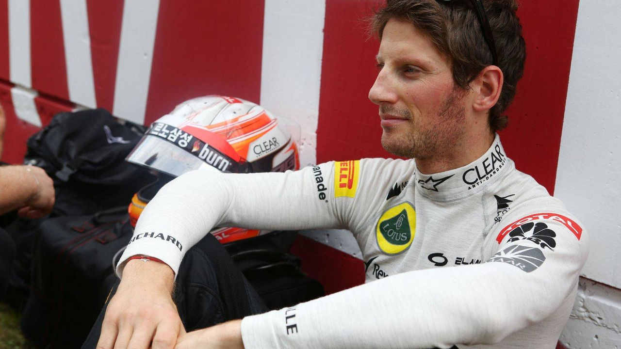 Romain Grosjean 06.10.2013 Korean Grand Prix