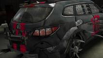 Hyundai Santa Fe Zombie Survival Machine announced