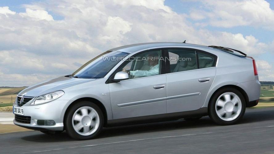 Dacia Logan Rendering & Spy Photos