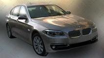 2014 BMW 5-Series facelift / Auto.163.com