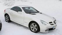 SPY PHOTOS: Mercedes SLK Facelift