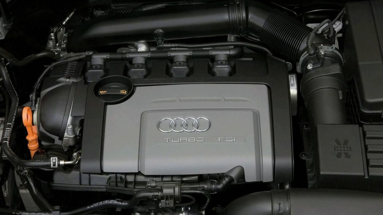 Audi 1.8 liter TFSI engine in Audi A3