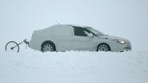 Renault Laguna Sedan Spy Photo