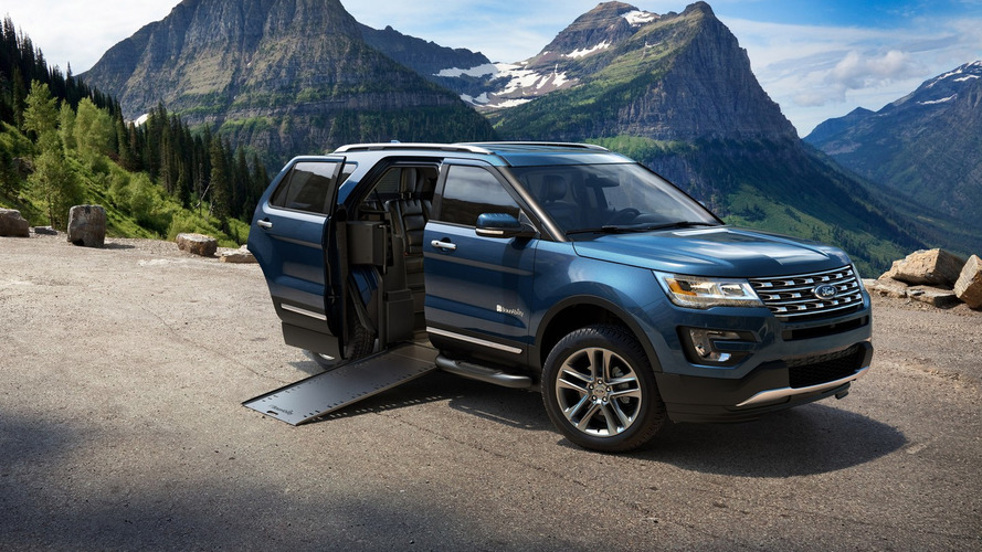 BraunAbility reveals wheelchair-accessible Ford Explorer [video]