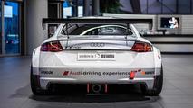 Audi TT Cup stars in photo shoot at Audi Forum Neckarsulm