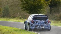 Hyundai begins testing the new i20 WRC