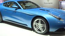 Touring Superleggera Berlinetta Lusso at 2015 Geneva Motor Show