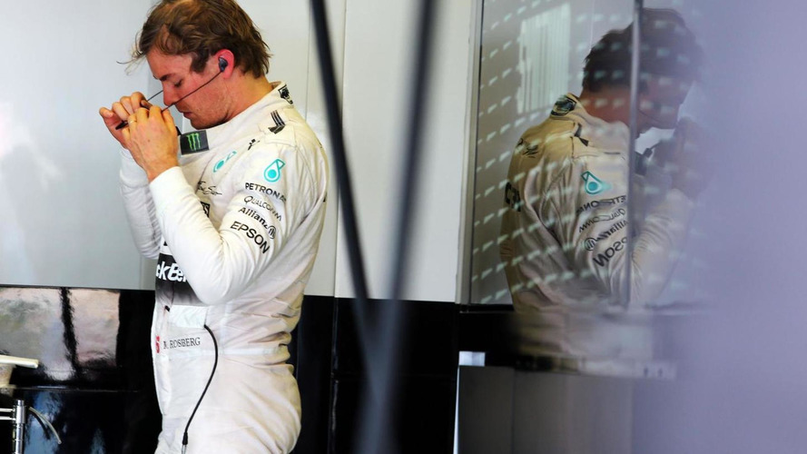 Rosberg suffering inflamed nerve in neck - report