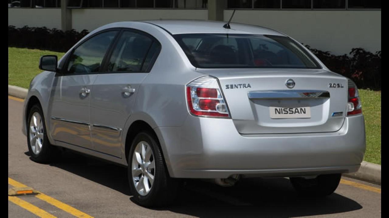 Nissan Sentra 2010 chega com novidades visuais, novos equipamentos e novos preços