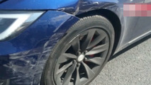 Autopilot-related crash in China captured on dashcam