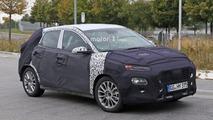 Photos espion - Le futur crossover urbain de Hyundai déjà surpris