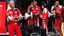 Ferrari 'a group of scared people, not a team' - Baldisserri