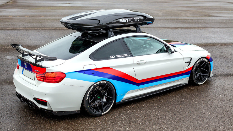 700 hp bmw m4 aspires to be gt4 race car with a roof box. Black Bedroom Furniture Sets. Home Design Ideas