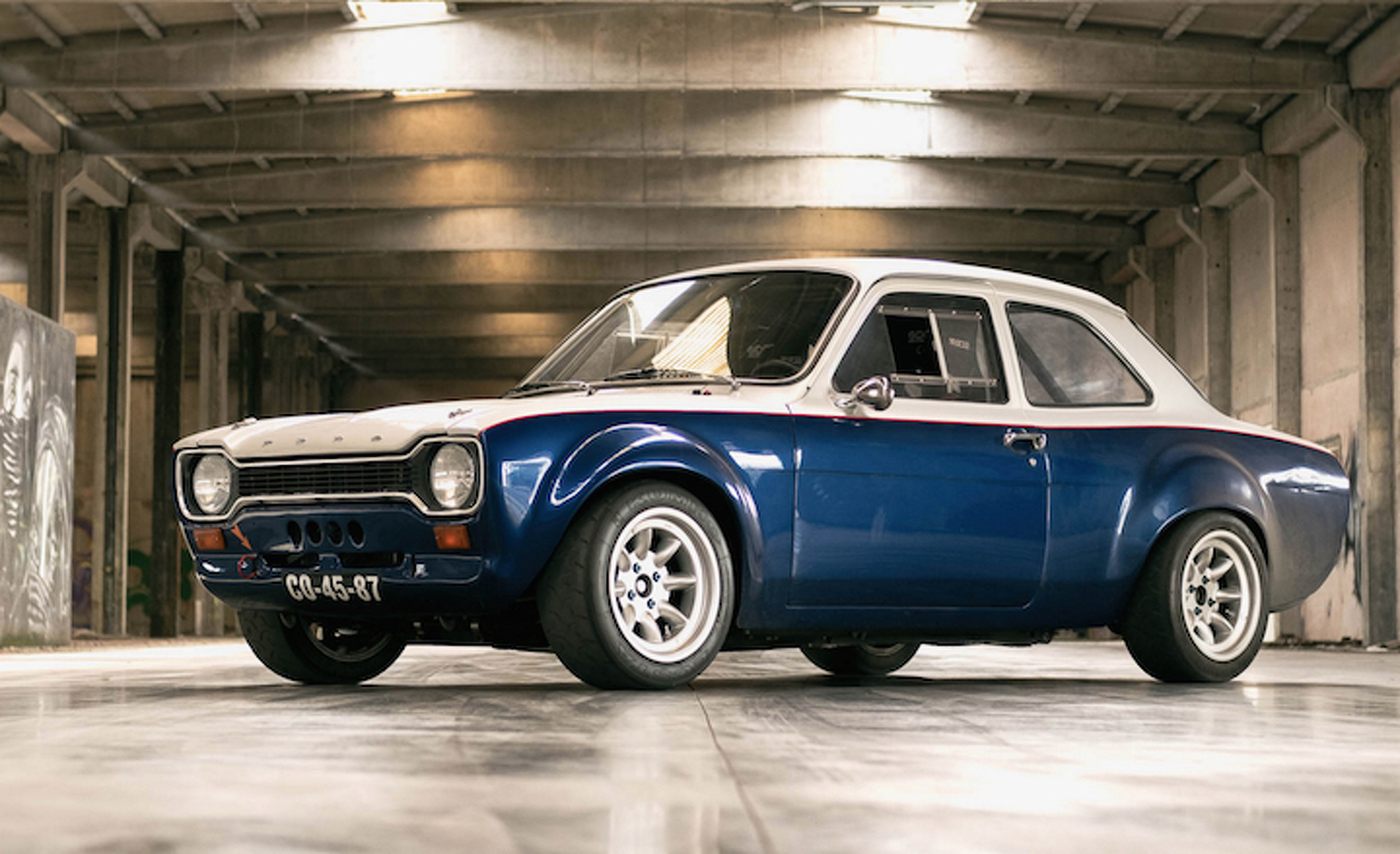 1974 Ford Escort MK1 Restored To Its Former Glory; Promptly Does Donuts