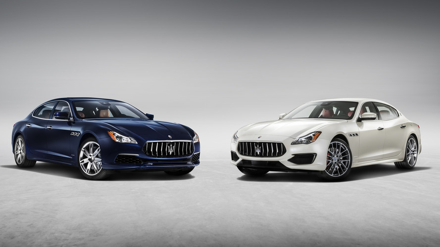 Maserati Quattroporte undergoes restyling for mid-life cycle