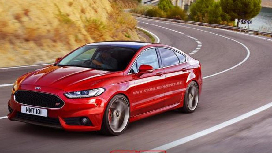 2015 Ford Mondeo receives virtual ST treatment