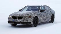 Next generation BMW 5-Series plug-in hybrid spied up close winter testing