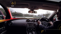 Jaguar Land Rover shows off their Bike Sense safety system [video]