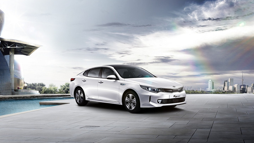 2016 Kia Optima Hybrid launched in South Korea [video]