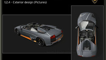 Lamborghini Murcielago LP650-4 Roadster Photos Leaked
