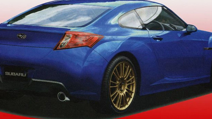 Subaru Coupe 216A Further Details and Speculative Renderings Emerge