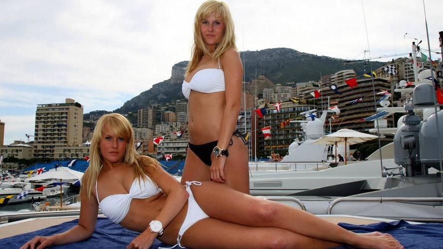 Sun in Monaco, ash cloud in Britain