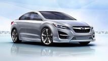 Subaru Impreza design concept video